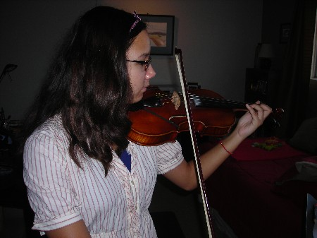 An Dunn Violin. Who I teach